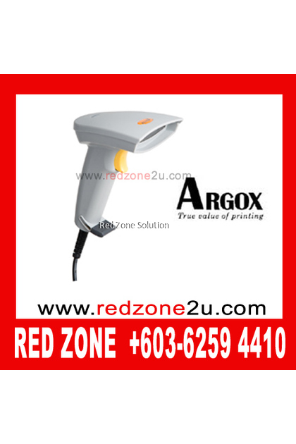 Argox AS8120 CCD Barcode Scanner - Black Color